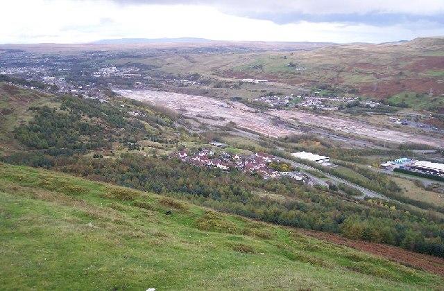 Steel works site, Ebbw Vale, Blaenau Gwent