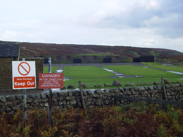 Rifle Ranges on Bellerby Moor