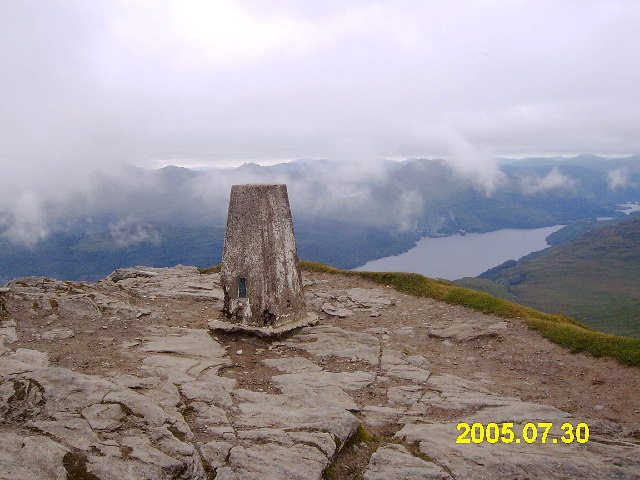 Ben Lomond trig point
