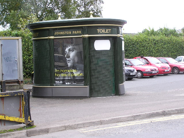 Omagh's only public toilet