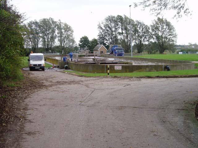 Haslingfield sewage works