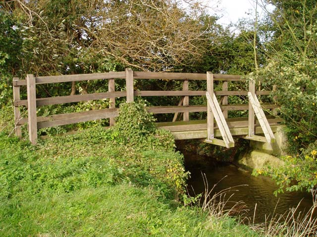 Bridge over Bourn Brook