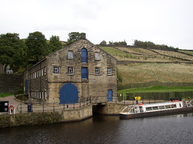 Canal Warehouse, Tunnel End, Marsden