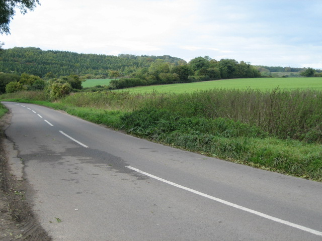 Road to Standon looking north