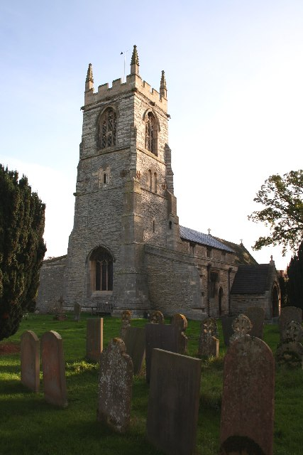 St.John the Baptist's church, Collingham, Notts.