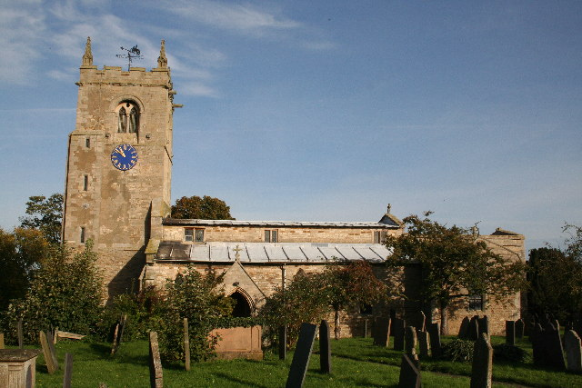St.Peter's church, Foston, Lincs.