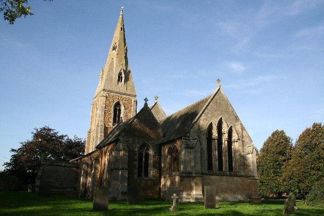 St.Mary's church, Marston, Lincs.