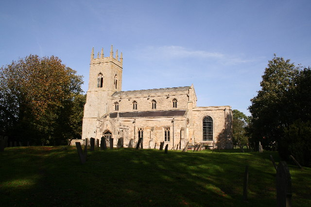 All Saints' church, Hougham, Lincs.