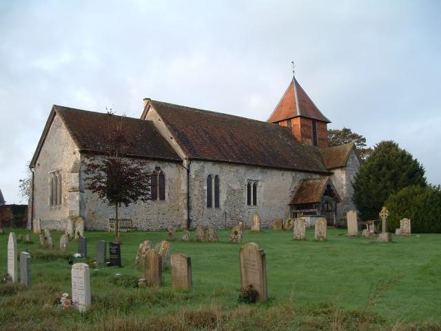 All Saints Church, Monk Sherborne, Hampshire