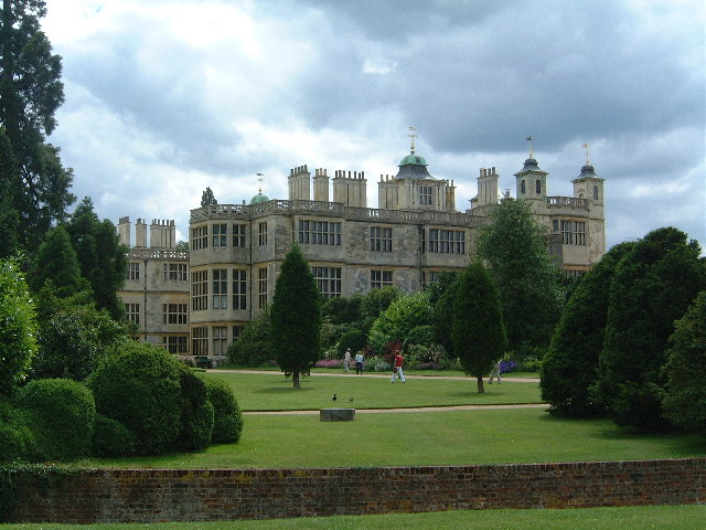 Side view (South) of Audley End House