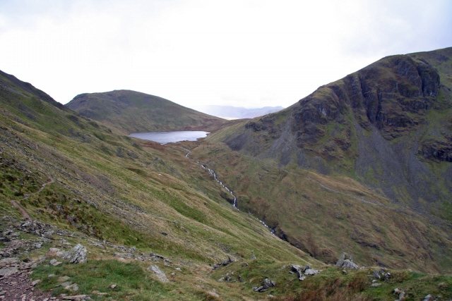 Grisedale Beck and Falcon Crag
