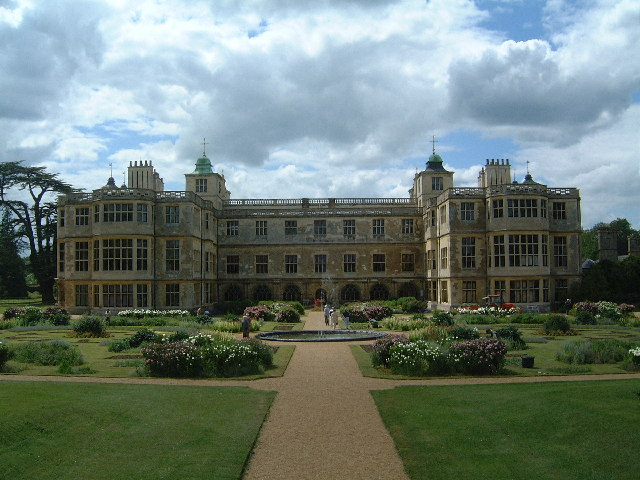 Rear view of Audley End House