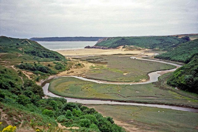 The meandering Pennard Pill