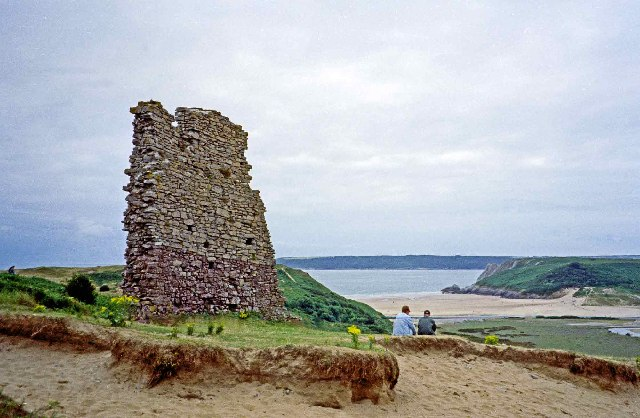 Ruins of Pennard Castle