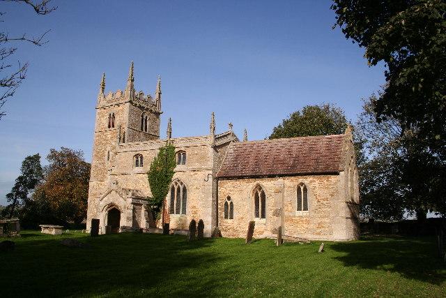 St.Wilfrid's church, Honington, Lincs.