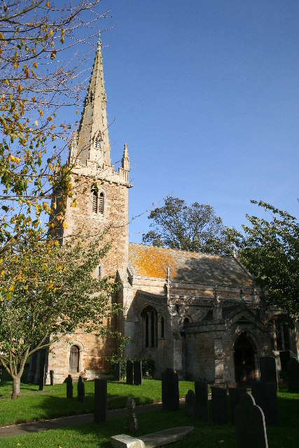St.Nicholas' church, Barkston, Lincs.