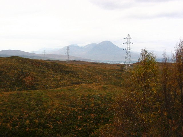 Pylons, Glen Arroch.