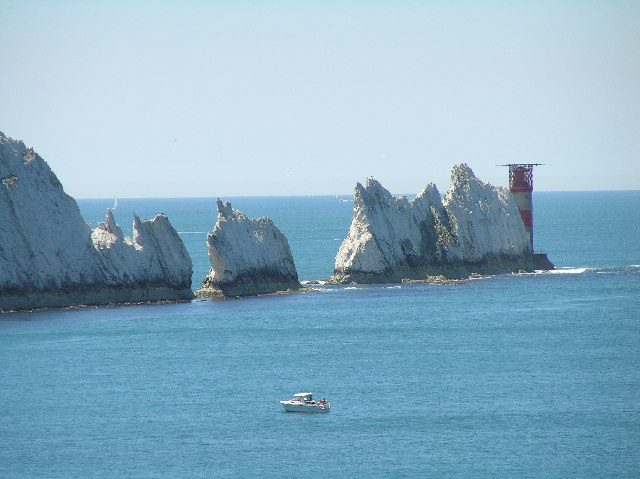 The Needles and Needles Lighthouse