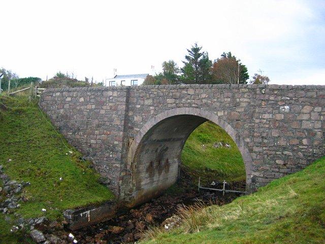 A87 bridge, Abhainn Ashik
