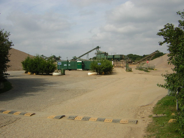 Tarmac aggregate quarry