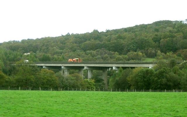 A465 Flyover at Pontneddfechan