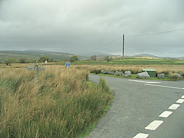 Road Junction on Comin y Rhos