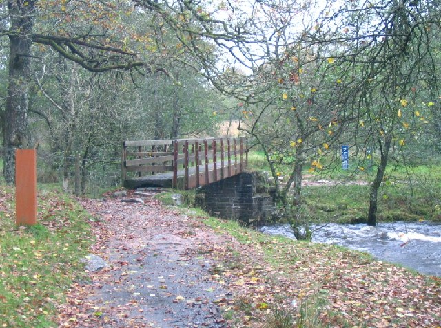Footbridge over River Mellte