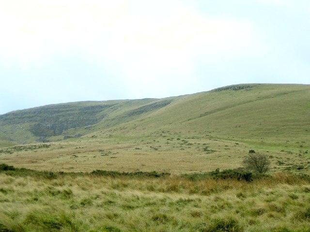 North Side of Fan Bwlch Chwyth