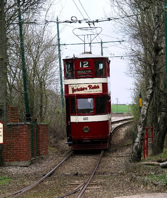 Tram No. 12, Crich National Tramway Museum