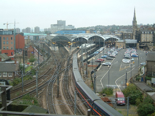 Approach to Central Station