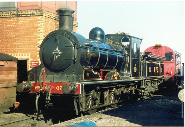 "Steam locomotive ""Maude"" at Bo'ness"