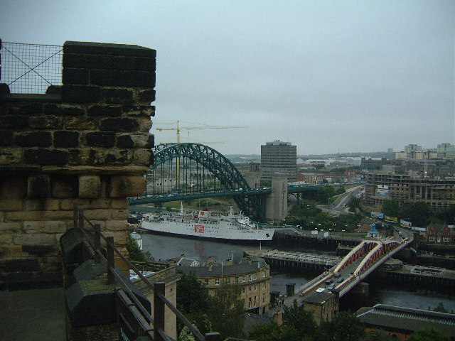 The Tyne Bridge and Swing Bridge