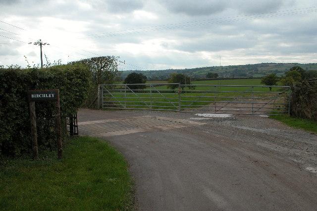 Entrance to Birchley at Aylton Court
