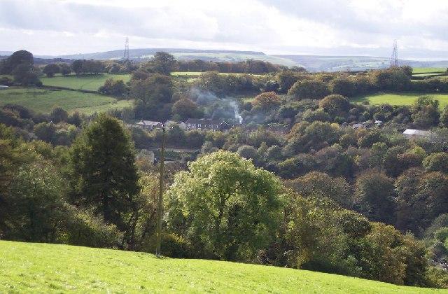 Pen-deri farm. Argoed, Caerphilly