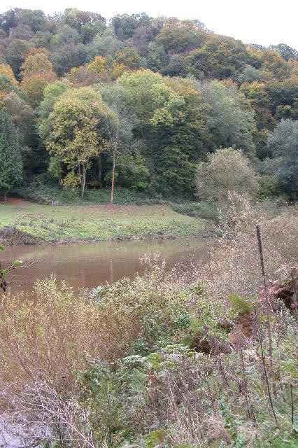 River Wye east of Symonds Yat