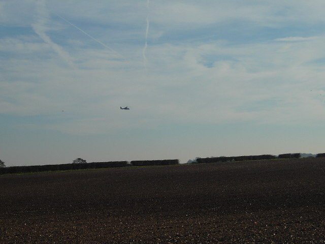 Helicopter towing or UFO?