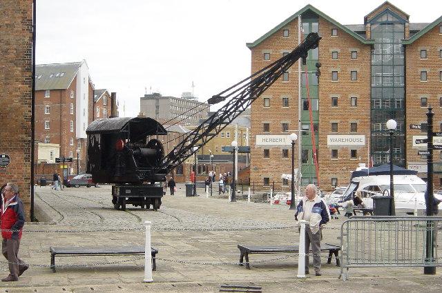 Steam Crane,  Gloucester Docks
