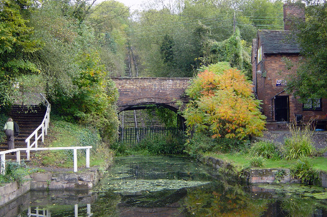 Hay Inclined plane and Canal basin, Coalport