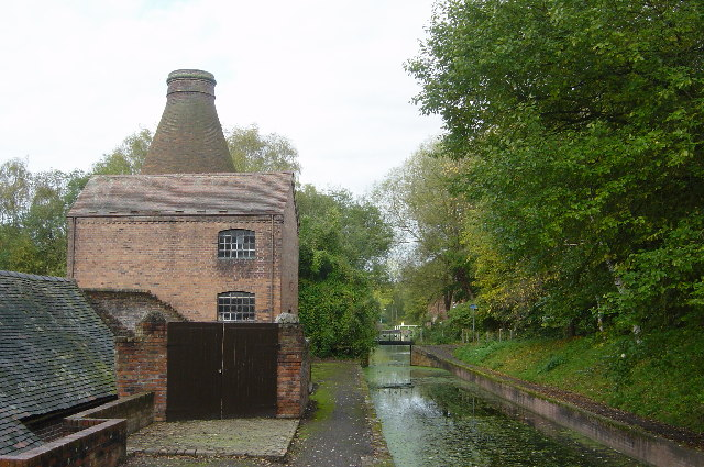 China pottery kiln & canalside, Coalport