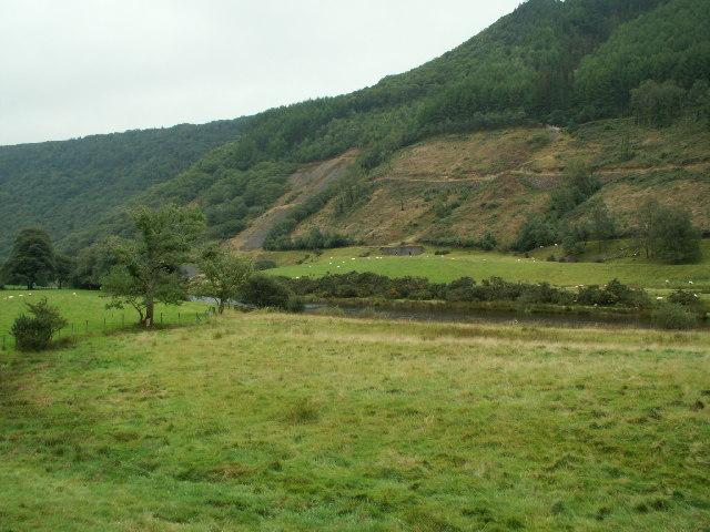 Mining remains, Rheidol Valley