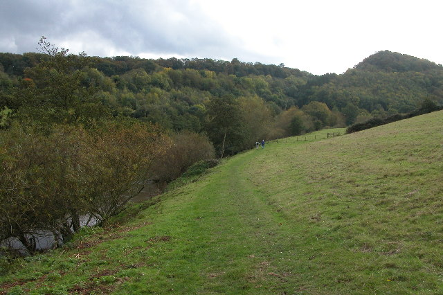 The Wye valley below Coppet Hill