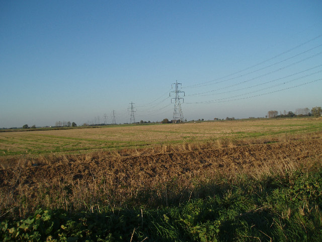 From Silt Road: the pylon line again.