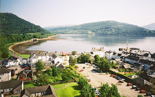 Inveraray from top of the tower