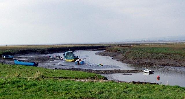Burry Estuary at Penclawdd