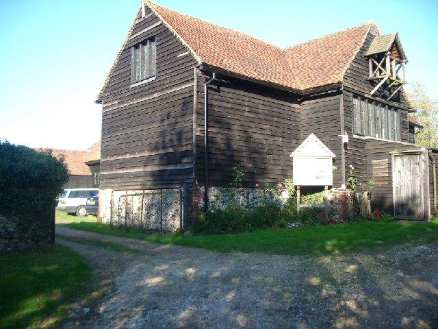 St Michael's Barn Church, Farley Green