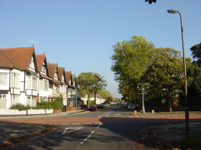 Junction of Whitehedge Road and Garston Old Road