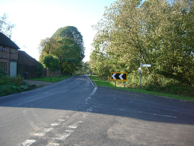 Junction of Alderbrook Road with Smithwood Common Road