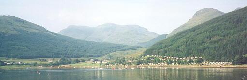Lochgoilhead,  across to the outdoor education centre