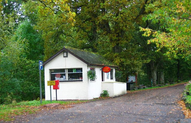Invergarry Post Office.