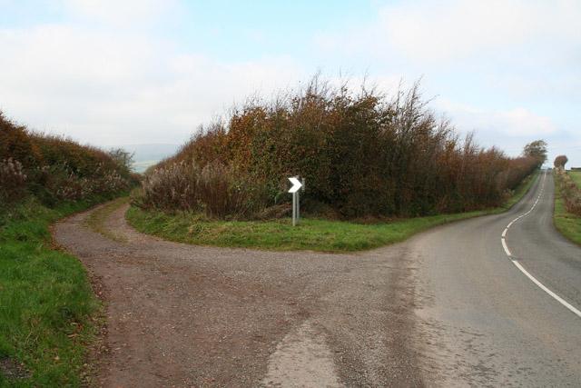 Cutcombe: Summerway Cross